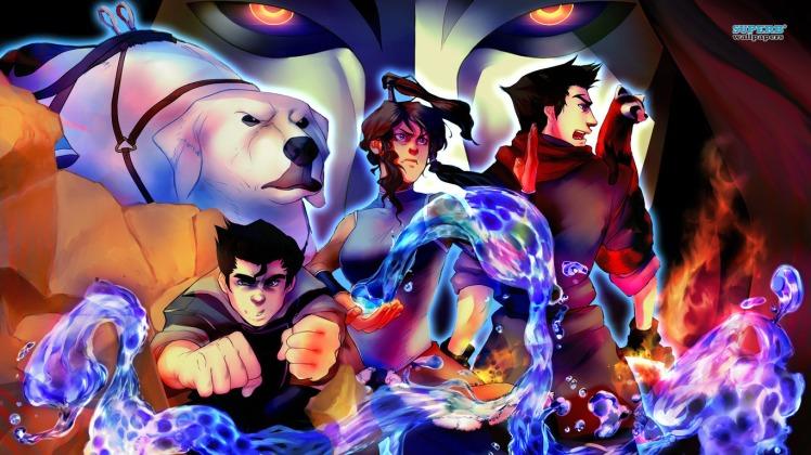 Avatar The Legend Of Korra Book 1 (Panda MZ)