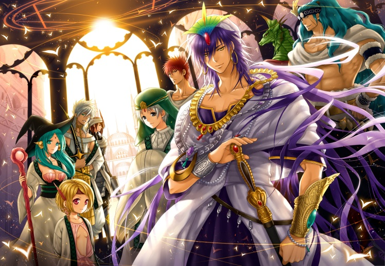 Magi The Kingdom Magic (Panda MZ)