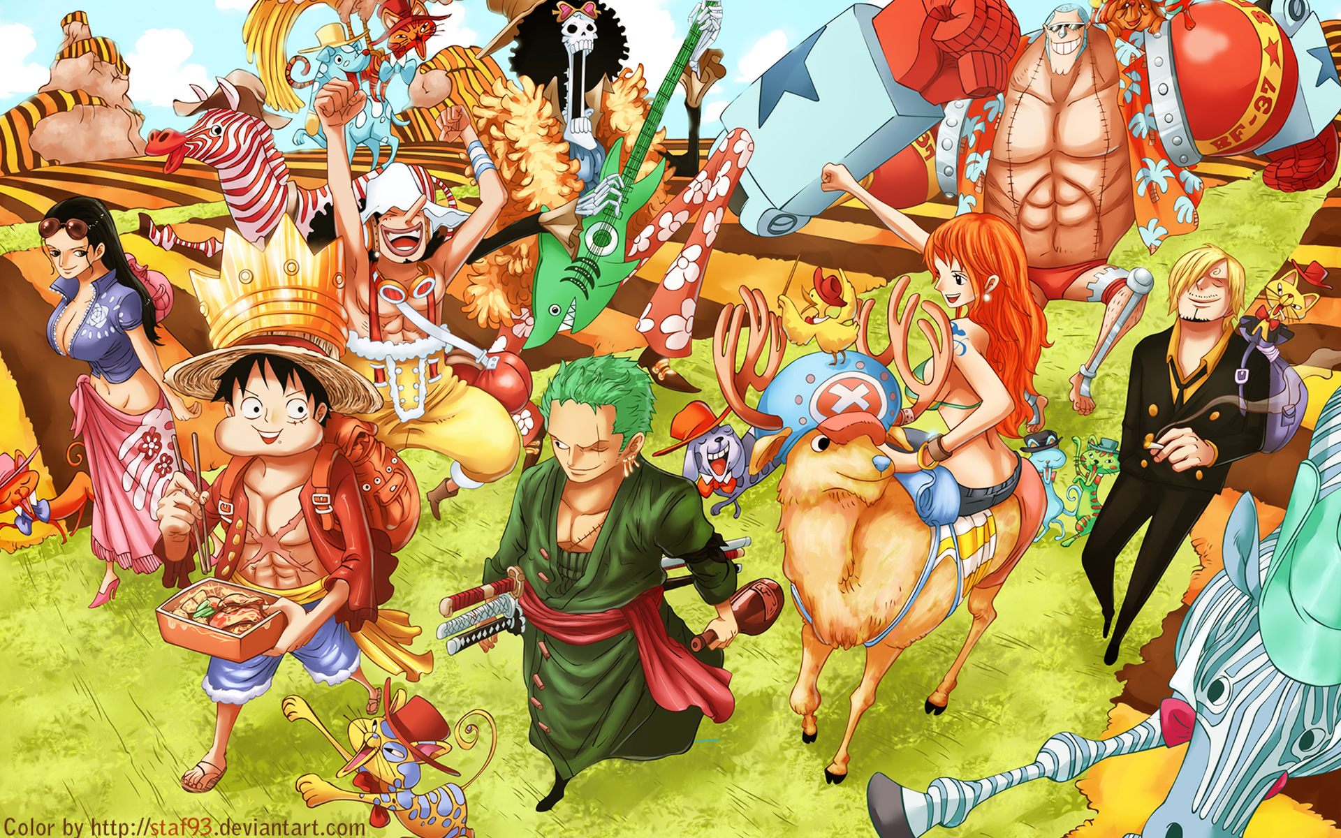 Bounty Kru Bajak Laut Monkey D Luffy Terbaru After Acr